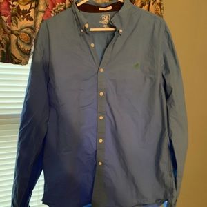 Club room fitted button shirt